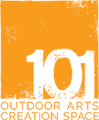 101 outdoor arts logo